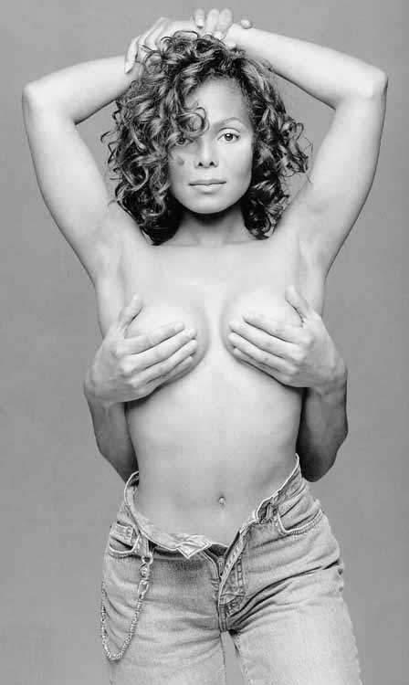 Janet Jackson nackt, Oben ohne Bilder, Playboy Fotos,