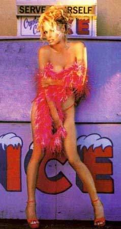 Pamela Anderson nackt getroffen